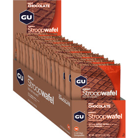 GU Energy Stroop Stroopwafel Box 16x32g, Hot Chocolate